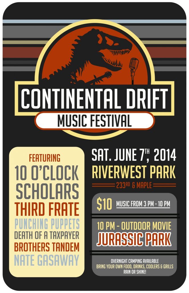 Continental Drift 2014 Poster