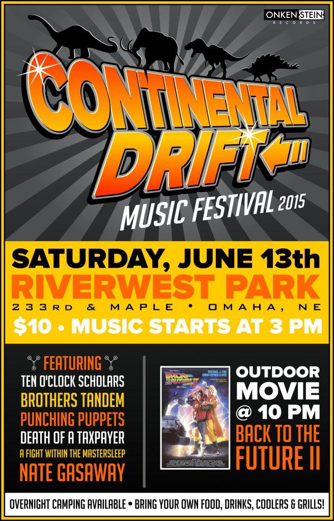 Continental Drift Poster 2015